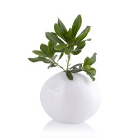 Beyaz Porselen Vazo