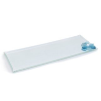 Blue Chry big glass Serving platter