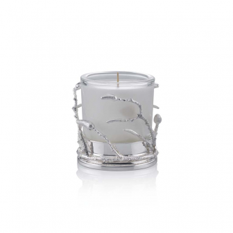 Banch small glass candle