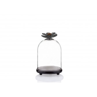 Chrysanthemum small marble bell jar