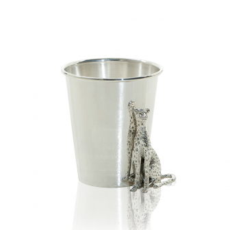 Ice Bucket with cheetah figure