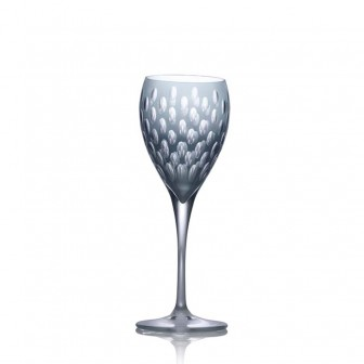 Fume color White Wine Glass set of 4