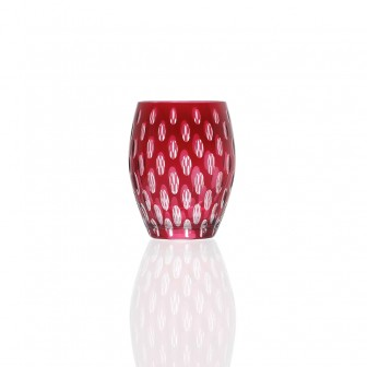Red color Water Glass set of 4
