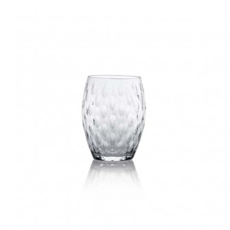 Natural color Water Glass set of 4