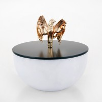 Falcon marble Candle