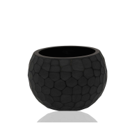 Honeycomb textured small Glass  Bowl