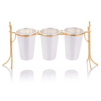Limb triple flatware bucket