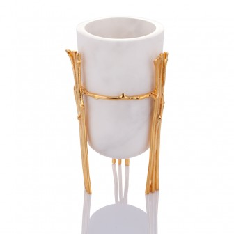 Limb small marble Vase