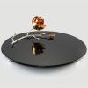 Magnolia big glass platter