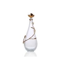 Magnolia small glass decorative Vase