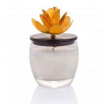 Magnolia glass Candle