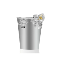 Ice Bucket with Orchid