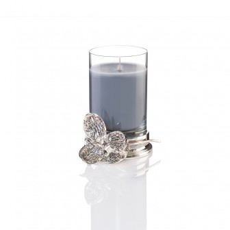 Orchid small glass Candle