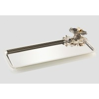 Orchid rectangular medium Tray