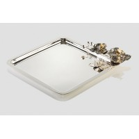 Orchid square big Tray