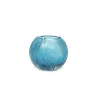 Dekorlu Küçük Mavi Çanak