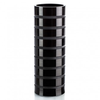 Stripes big glass Vase
