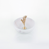 Thorn small marble Bowl