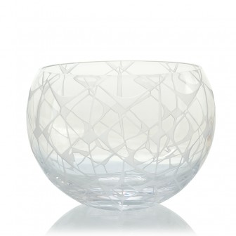 Ethnic pattern glass  Bowl