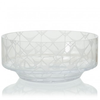 Touch  big Glass  Bowl