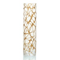 Touch  big  glass Vase