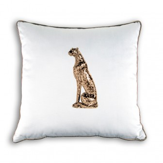 Small Cheetah print big decorative pillow