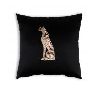 Çita Figürü Desenli Kırlent ve Kırlant Kılıfı