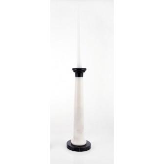 Zebra marble  Candlestick