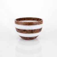 Zebra small Marble Bowl