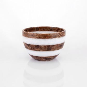 Zebra small Marble Bowl