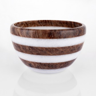 Zebra big  Marble  Bowl